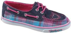 Skechers Smooth Sailor Kids Boat Shoe For Girls BLUE/PINK 13 M Youth Skechers. $37.99