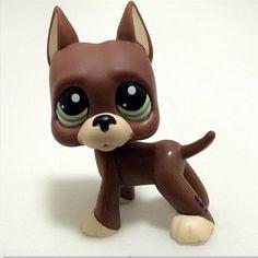 Littlest Pet Shop LPS 2598 750 Kids Pink Great Dane Dog Puppy Collection 2* Gift