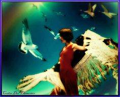 Коллаж на основе фотографии танцовщиц театра Costa Del Flamenco под руководством Лилии Сафиной www.safina.ru