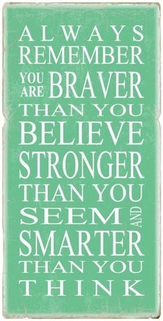 I need to believe!!!
