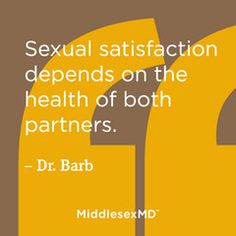 Sexual satisfaction has many components, involving the emotional and physical health of both partners. Premature ejaculation is a common condition that can frustrate both, and can be difficult to talk about.