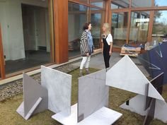 Virginia Poundstone Artist Glass Stone Sculpture Aldrich Contemporary Art Museum Ridgefield Connecticut