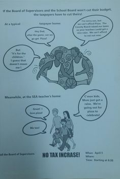 Actual brochure from protesters against raising teacher's wages   http://ift.tt/1SiqJlU via /r/funny http://ift.tt/1pJ7gBW  funny pictures