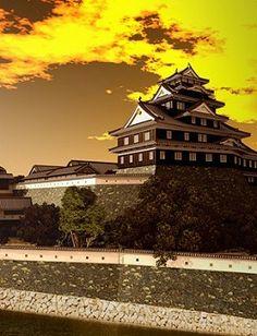 岡山城 Japan Photo, Japanese Culture, Castles, Opera House, Tower, Building, Travel, Viajes, Chateaus