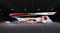 McLaren auto show on Behance