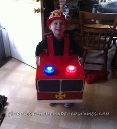 This year for Halloween I asked my almost 3 year old what he wanted to be for Halloween, and due to his obsession with firetrucks of course he said a ...