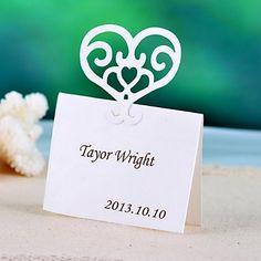 Heart+Shape+Place+Card+-+Set+Of+12+–+GBP+£+4.62