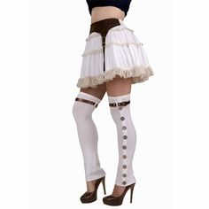 Over-the-knee spats. I could make these.