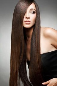 To straighten hair without heat, just mix a cup of water with 2 tablespoons of BROWN sugar pour it into a spray bottle then spray into damp hair and let air dry wonder is this works