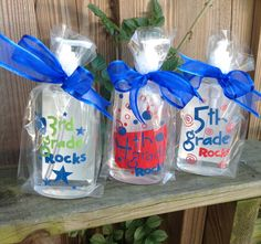 Personalized School / Classroom Sanitizers. A great Teacher gift - TDY Designs