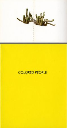 Ed Ruscha, Colored People