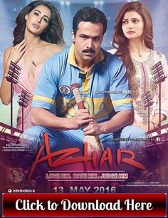 Azhar 2016 Full Movie Download Free --    http://onlinemoviedownloadsite.blogspot.com/2016/05/azhar-full-movie-download-free-hd.html