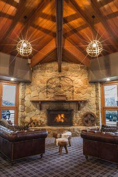Ski resort, designed by In Design International.