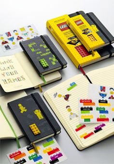 LEGO® - Plain Pocket Notebook. Lego + Moleskine =  genius. I want one!!! :)