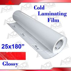 "Amazon.com : 25x180"" (0.7x5Yards) 3Mil Glossy UV Luster Vinyl Cold Laminating Film Laminator : Laminating Machines : Office Products"