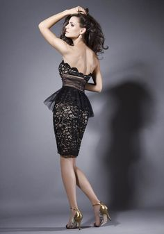Bien Savvy - Rochii de seara - FALL IN LOVE 2013 - lace peplum dress