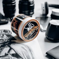 What kind of pomade do you use? Have you tried this Suavecito pomade? So extremely  hold guys!!! #BrotherhoodBarbershop by brotherhood.barber