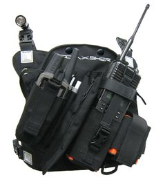 Coaxsher RCP-1 Pro Radio Chest Pack.  Great piece of tactical gear useful for Wildland Firefighters, Search and Rescue, Climbing, ARMY, NAVY, MARINES, Military, Police, FBI and more.  Also available in an extended size option for those with broader than average chests or for wearing over bulky jackets.