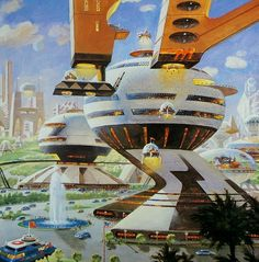 'City Center 2050' McCall, 1990 : RetroFuturism