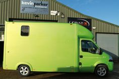Green 3.5 Tonne Horsebox for Sale by Kevin Parker Horseboxes Horse box
