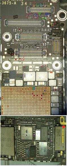 Apple Iphone, Iphone 6, Iphone Repair, Hardware Software, Mobiles, Sd, David, Board, Art