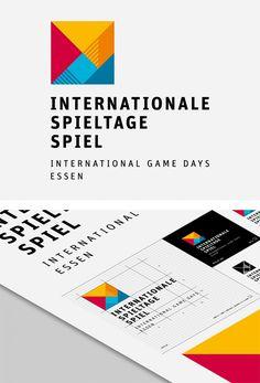 International Game Days Identity by Stefan Zimmermann | Inspiration Grid | Design Inspiration
