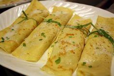 Crêpes salate: 10 saporite ricette