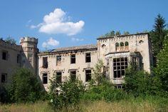 Pałac Skrzyńskich w Zagórzanach - Gmina Gorlice