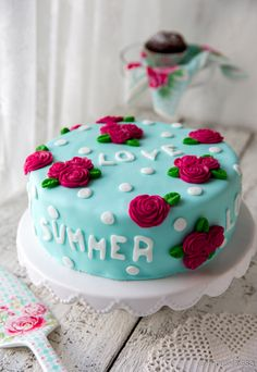 Sweet summer love -kakku   Reseptit   Kinuskikissa