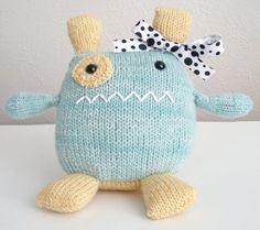 Knitted Penelope the Monster
