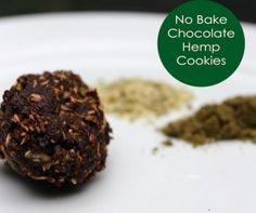 No-bake-hemp cookies.