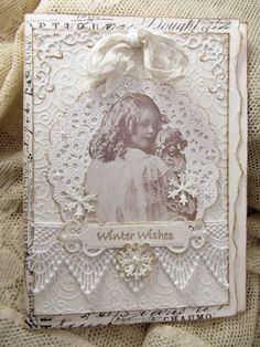 Scraps From A Broad: White Winter Wishes