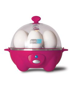 Another great find on #zulily! Pink Rapid Egg Cooker by DASH #zulilyfinds