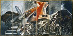 José Clemente Orozco (1883–1949). 275 x 550 cm. Museum of Modern Art, New York, USA.