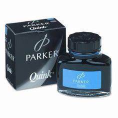 Sanford Super Quink Washable Ink for Parker Pens, 2-oz. Bottle, Blue