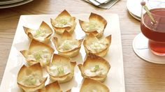 Baked Crab Rangoon! Looks so yummy!
