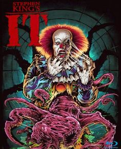 Horror Movie Poster Art : Stephen King's IT 1990 by Coki Greenway