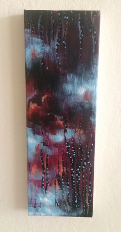 Harvest Abstract Painting, Acrylic on canvas by JessicaFraserArt on Etsy