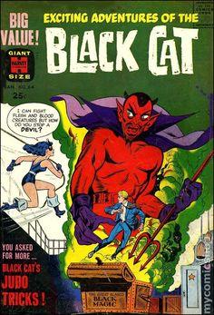 Black Cat Comic books   Black Cat Mystery (1951 Harvey) comic books