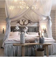 Romantisches Schlafzimmer im Landhausstil | Rustic home | Pinterest ...