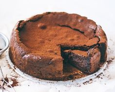 Best Ever Almond Crunch Chocolate Cake - Yummoty