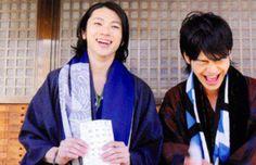 yuki yamada and ryota ozawa - so cute