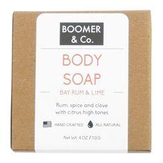 Bay Rum & Lime Soap Bar