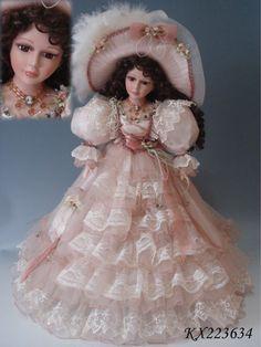 Beautiful victorian porcelain doll
