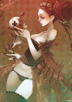 Girly illustrations : the style of Fabio Barboni