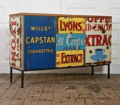 Amazing furniture made from salvaged materials by Rupert Blanchard. Click through to Spitalfields Life for a ton more great images.