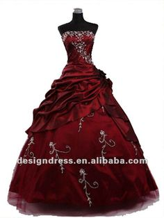 Big Poofy Dresses | New Fashionable Strapless Puffy Prom Dresses 2012 Stock 3 Colors Size ...