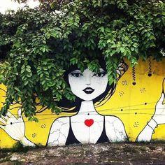 Creative Projects: Street Art Street art – Graffiti World Murals Street Art, Street Art Graffiti, Amazing Street Art, Amazing Art, Banksy, Art Du Monde, Urbane Kunst, Grafiti, Chalk Art