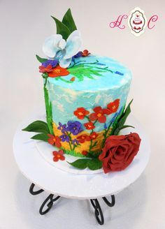 colorful buttercream cakes - Google Search