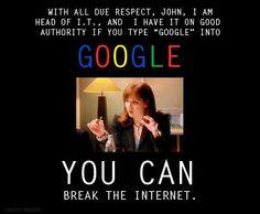 Googling Google - The IT Crowd -